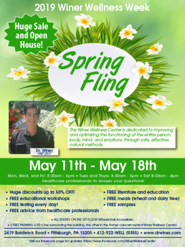 Winer Wellness Week, Spring Fling