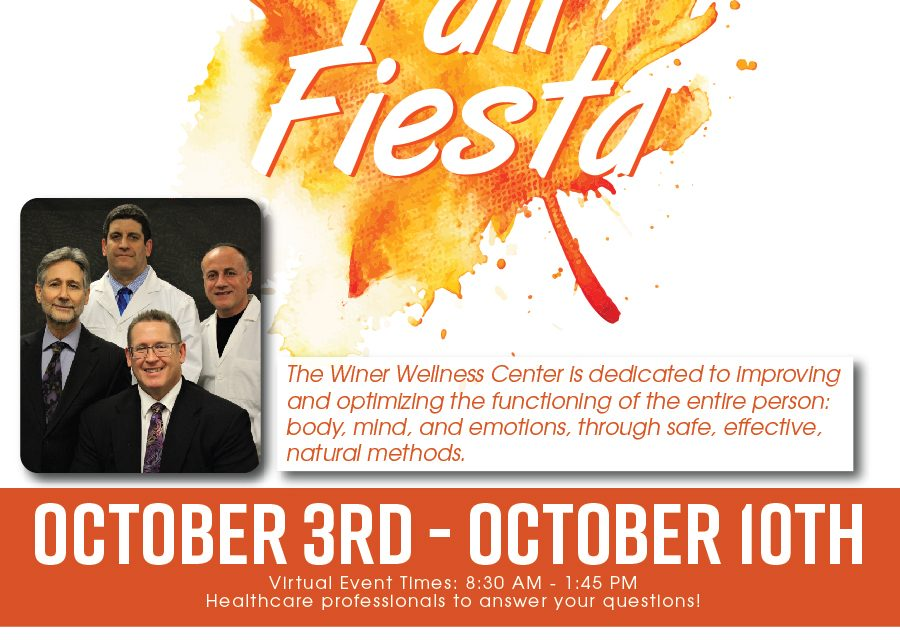 Winer Wellness Week, Fall Fiesta 2020